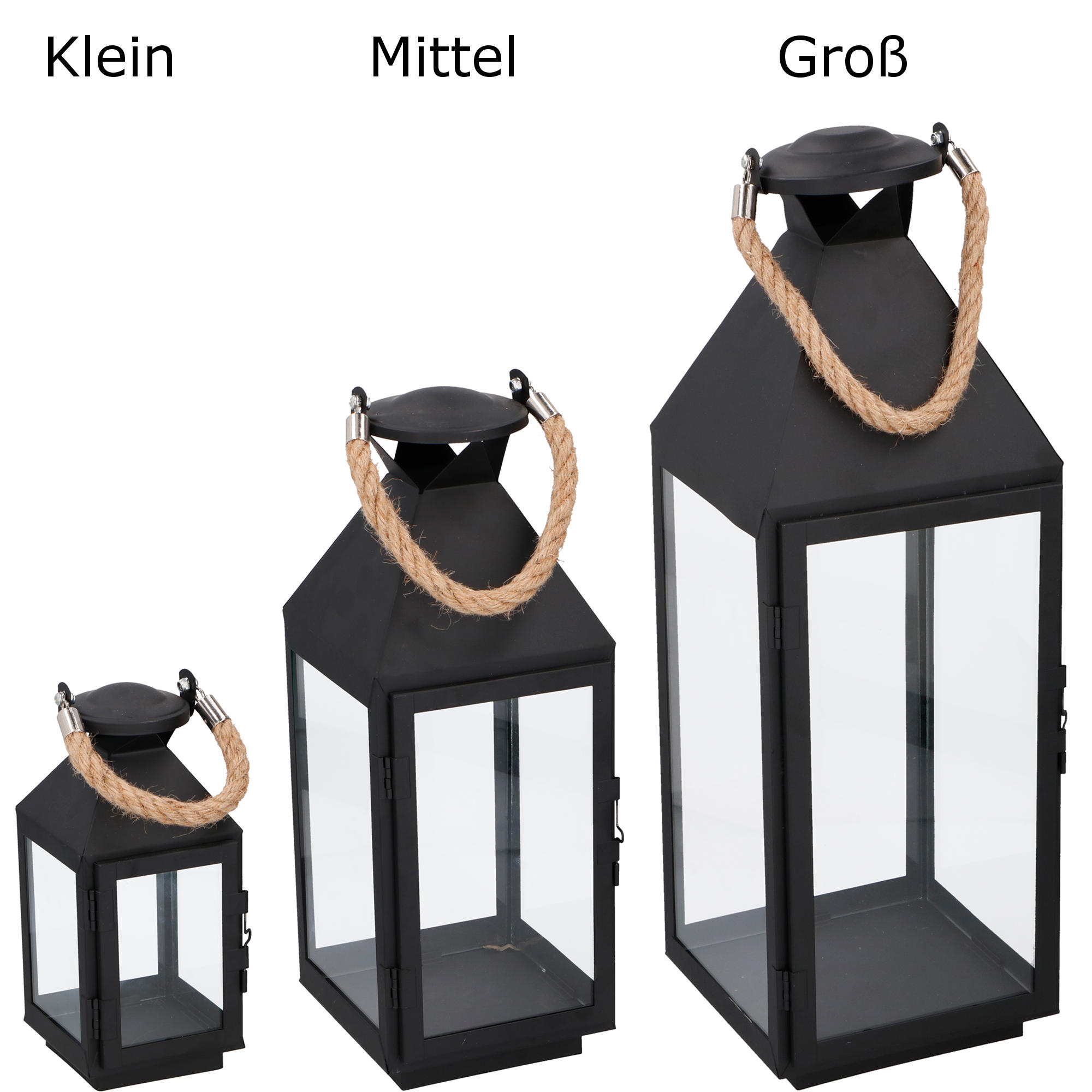 laterne metall 1 windlicht dekoration kerze f r garten terrasse wohnung balkon ebay. Black Bedroom Furniture Sets. Home Design Ideas
